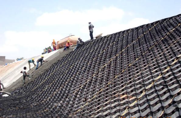 Geogrile pentru armarea solului in constructii