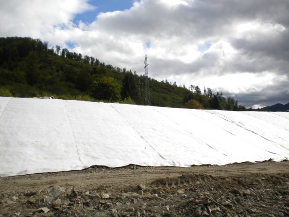 Materiale geotextile