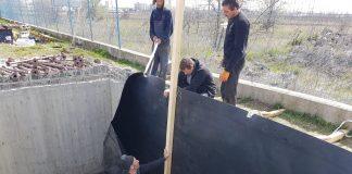 Rampa spalare camioane si bazin retentie Iveco Romania